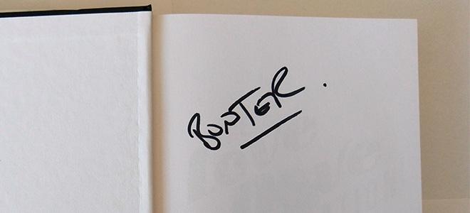 Billy Daniel Bunter - Signature