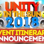 Unity in the Sun 2018 Reveals Event Itinerary
