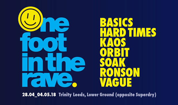 One Foot In The Rave – Exhibition Celebrates Leeds' Legendary Club Scene