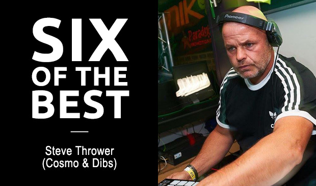 SIX OF THE BEST: Steve Thrower (Cosmo & Dibs)