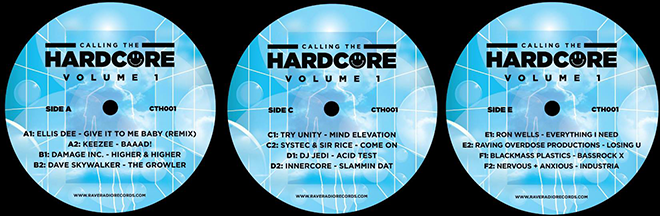 Calling The Hardcore Volume 1 - Labels